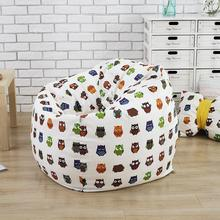 The Cartoon Pig style Bean Bag Chair Garden Camping Beanbags covers Lazy Sofa Anywhere Portable Sitting Cushion 120×120(hight)cm
