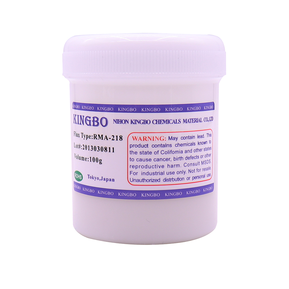 10pcs lot KINGBO RMA 218 100g Bga Solder Paste Flux For Reballing Soldering Accessories 1 order