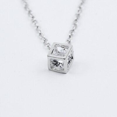 H26 Новая мода сердце лист луна кулон ожерелье из хрусталя женские праздничные пляжные массивные ювелирные изделия - Окраска металла: x259-Silver