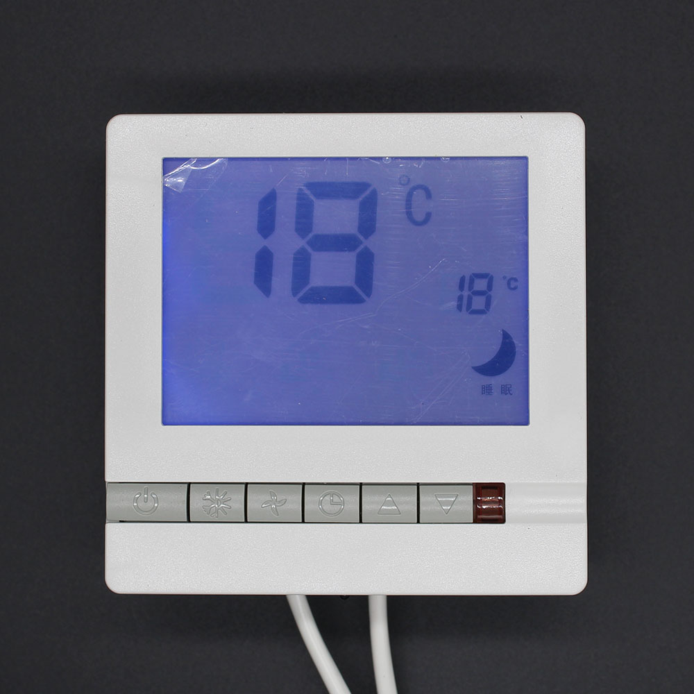 Digital Temperature Controller water/room/Floor heating system thermostat non programmable 3pcs lcd digital heating thermostat room temperature white backlit controller
