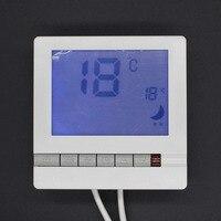 Nhiệt Độ kỹ thuật số nước Điều Khiển/phòng/Floor hệ thống sưởi nhiệt không lập trình