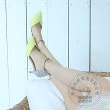 Damen Schuhe 2014 Warme Womens Heels Stiletto Heels Designer Marken Nubukleder Mori Mädchen Haspe Blau Heels Plain Vier Jahreszeiten