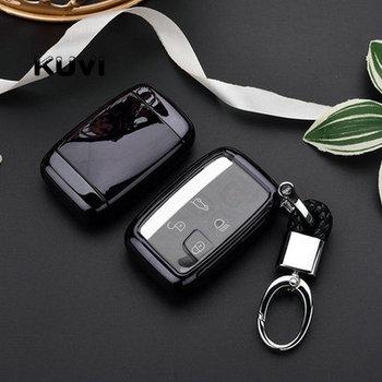 Car Key Cover Key Case Bag For Land Rover RANGE ROVER SPORT Freelander 2 DISCOVERY 4 Evoque for Jaguar XE XJ XJL XF key cover
