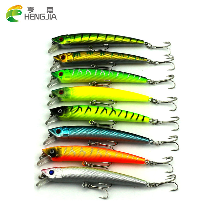 800pcs Suspend Fishing Lures 90mm 7g 2.5M Dive Artificial Bait Plastic Shad Minnow 3D Eyes Wobbler Bass Lure Fishing Tackle ytqhxy 2pcs lot 12 5g 13cm soft bait fishing lure shad silicone bass flexible minnow bait swimbait plastic lures pasca ye 120
