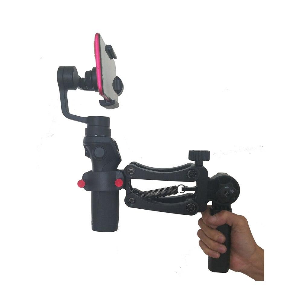 Spring Dual Handle Grip Gimabl Hold Arm for DJI Ronin S ZHIYUN Crane 2 Feiyu MOZA