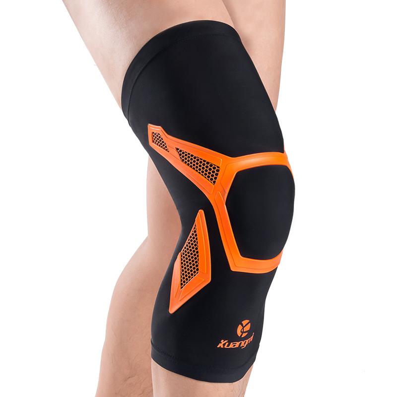 Kuangmi 1 Piece Knee Sleeve Support Compression Brace Anti Slip Pain Relief for Sports Arthritis Patella Joint Injury Recovery in Elbow Knee Pads from Sports Entertainment