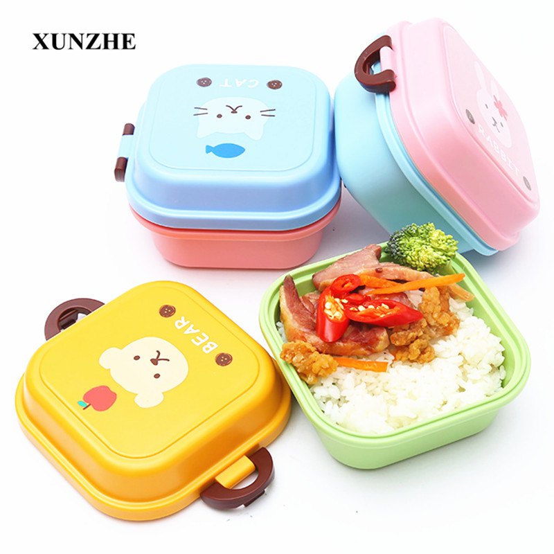 XUNZHE Mini Children s Food Storage Container School Student Portable font b Lunch b font Boxes