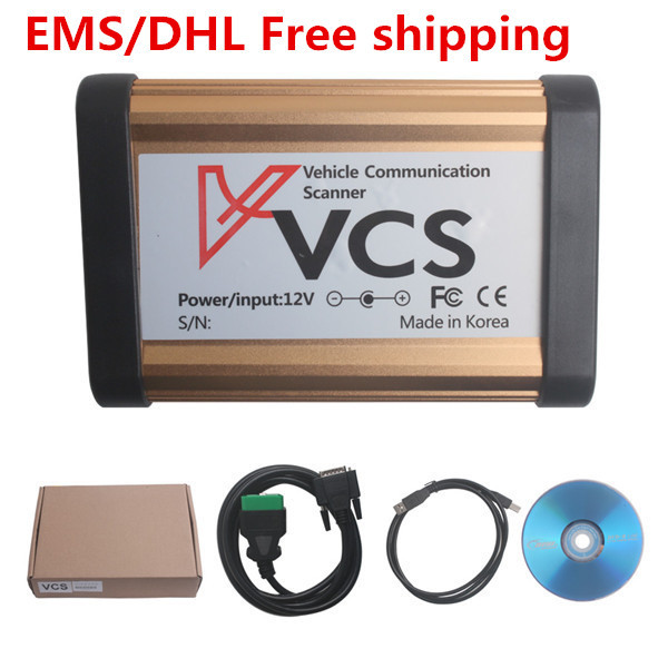 2016 New Car Tools Universal VCS Vehicle Communication Scanner Interface Automobile diagnostic instrument TOOL Englsih/Russian