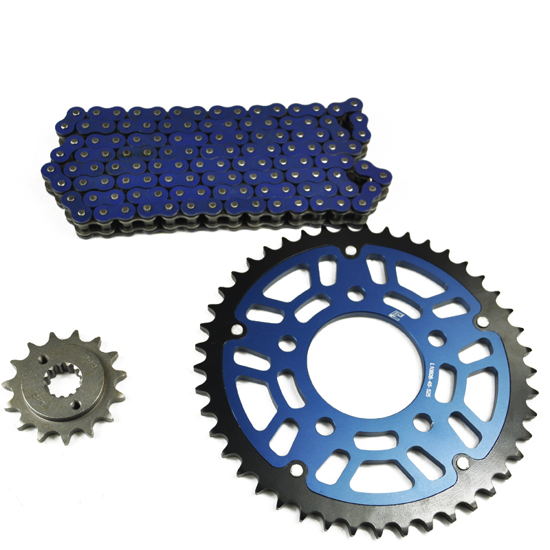 LOPOR Motorcycle 525 O-ring Chain Set Front & Rear Sprocket For Honda VLX600 1990 VRX400 VLX400 VT600 C Shadow PC16 1990-1998