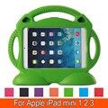Таблетки ЕВА Серии Ударостойкой Кабриолет Ручка с Подставкой Дети атака Защитная Крышка Case для Apple iPad Mini 1 2 3