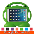 Tablet EVA Series Shock Proof Convertible Handle with Kickstand Kids Friendly Protective Cover Case for Apple iPad Mini 1 2 3