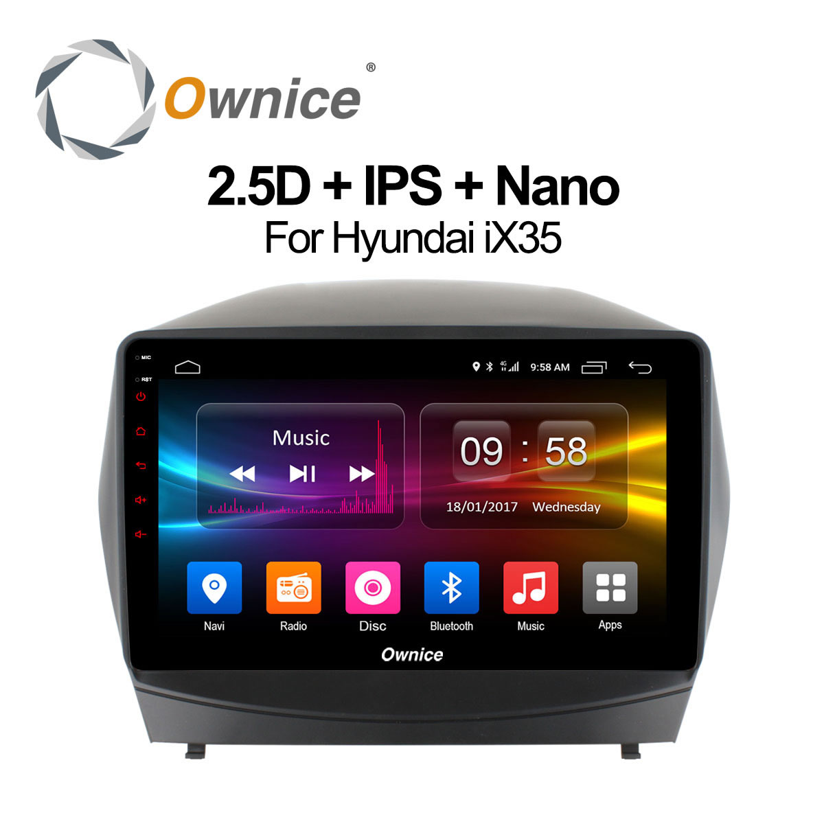 ownice c500 octa 8 core android 6 0 car radio dvd player. Black Bedroom Furniture Sets. Home Design Ideas