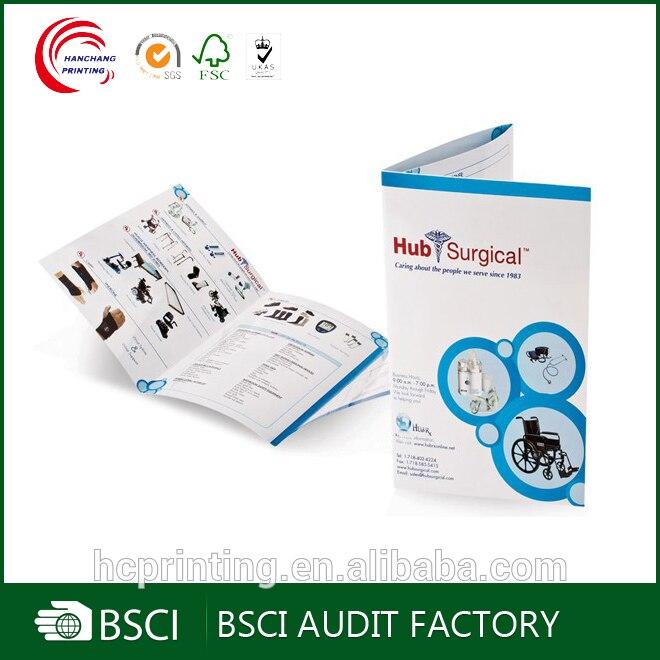 Cheap Booklet Catalog Leaflet Printing/A4 Flyer Printing Brochures Printing Custom