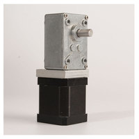 Large torque all metal gear Nema17 42 Step motor 42MM strengthen stepping motor Turbine Worm Gear Stepper motor