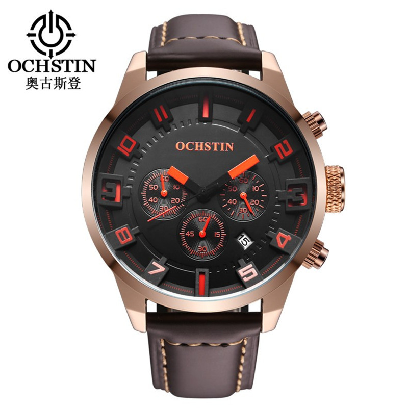 Luxury Brand Leather Waterproof Clock New casual Sport date Watches men business quartz men's wristwatches Relogio Masculino longbo brand new arrival leisure business series watches leather date calendar men waterproof wrist watches 3015