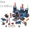 2016 nueva lnightes el fortrex combinación bloques de construcción del castillo kits juguetes ninifigur compatible leii nexus