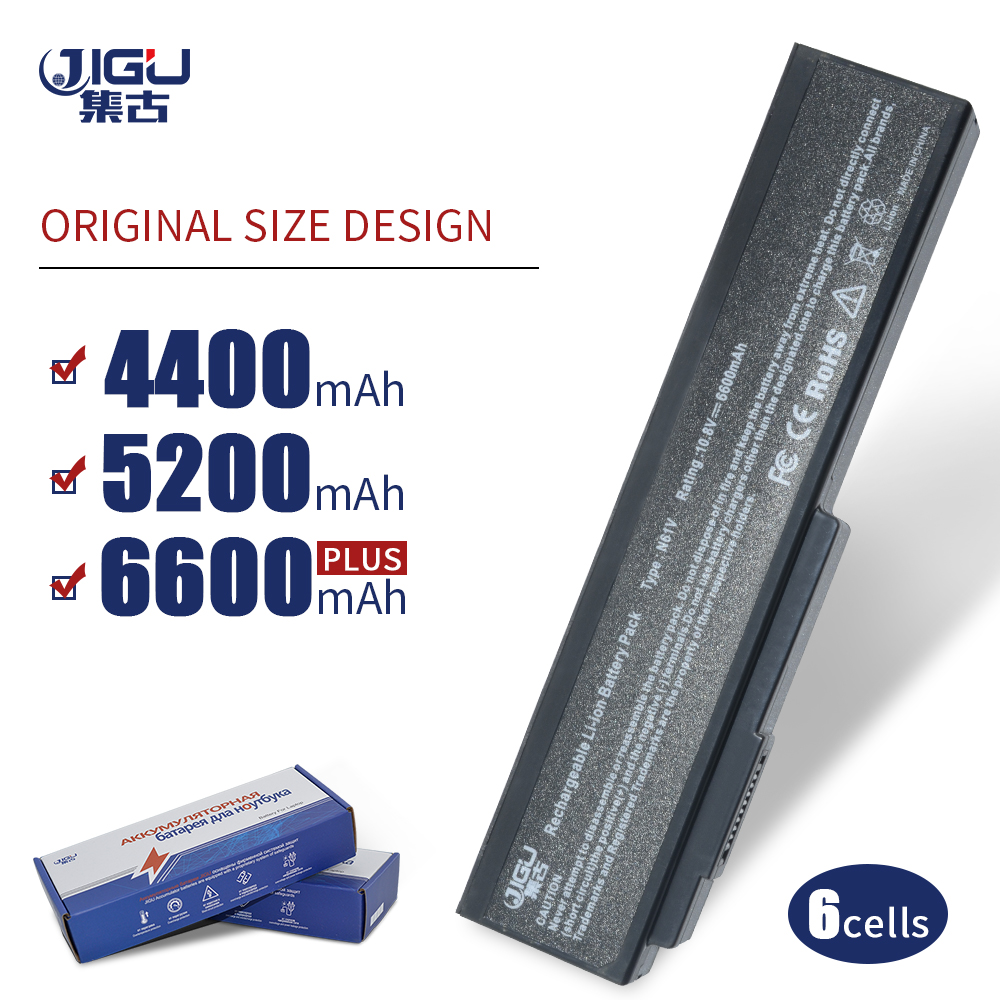 JIGU מחשב נייד סוללה עבור Asus N61 N61J N61Jq N61V N61Vg N61Ja N61JV N53 M50 M50s N53S A32-M50 A32-N61 A32-X64 A33-M50