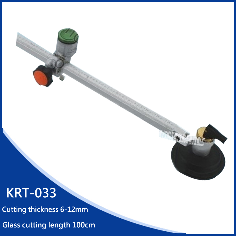 New Arrival Max Cutting Glass Diameter 100CM Oiling Circle Cutter Glass Push Knife 6-12mm Cutting Thickness,Glass Cutting Tools