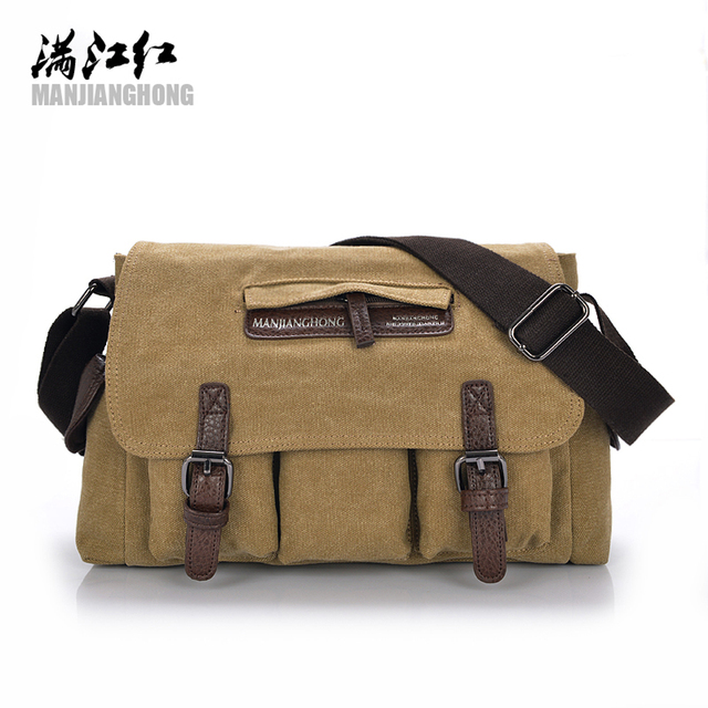 91d06cd0baef Mannen Zwarte Vintage Messenger Bags Canvas Satchel School Militaire  Schoudertas Jongen Reizen Handtas Business Crossbody Tas