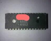 送料無料 1 ピース/ロット MOS 6581 DIP