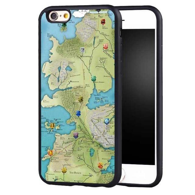 Game of throne got world map soft silicone full protective case game of throne got world map soft silicone full protective case cover for iphone x 8 gumiabroncs Choice Image