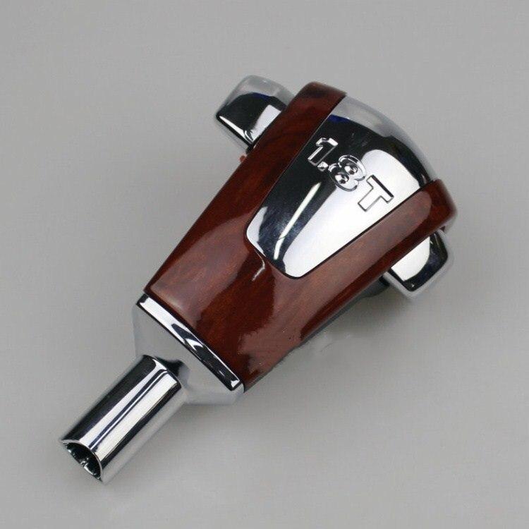 Saborway Original Cherry Wood Chrome Automatic Gear Shift Knob Shifting Handball For Passat B5 1 8T