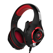 High Quality Headphones with Microphone Gaming Headset For PC PS4 Xbox One Mobile gamer earphone cable with Mic for computer earphone gaming headset headphone gamer pc stereo for computer phone tablet headphones ps4 xbox 1 laptop mobile with microphone