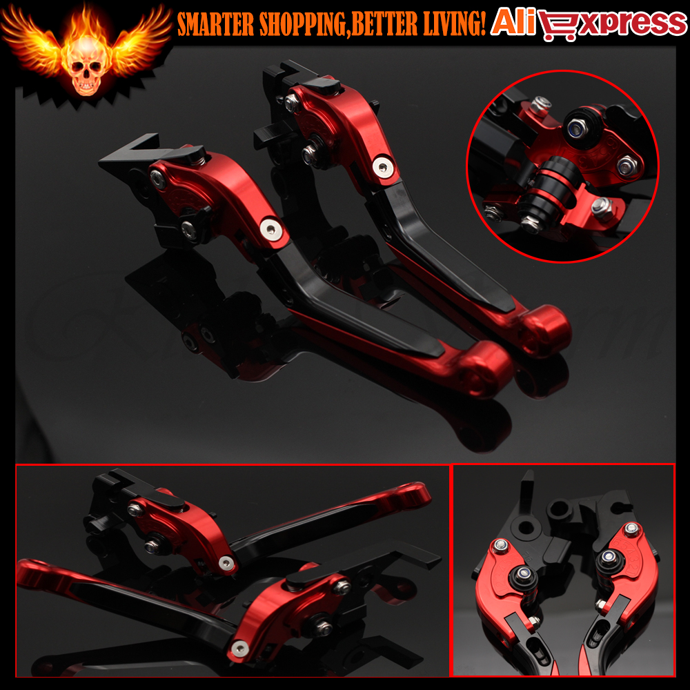 Adjustable Folding&Extendable Motorcycle Brake Clutch Levers For Yamaha FZ6 FAZER FZ6R FZ8 MT-07/FZ-07 FZ-09/MT-09/SR FZ1 FAZER cnc billet adjustable long folding brake clutch levers for yamaha fz6 fazer 04 10 fz8 2011 14 2012 2013 mt 07 mt 09 sr fz9 2014