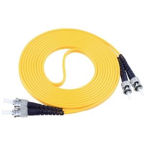 Image 5 - FTTH Fibra Optica Patch Cord ST/UPC ST/UPC OS1 Single mode Duplex FiberCable fibra optica Cord 3mm 3Meter ST STfiber patch cord