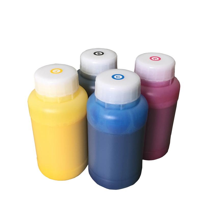 4 colorX 1liter textile ink For Epson all printers made in Germany with top quality textile ink for Epson flabted and UV printer