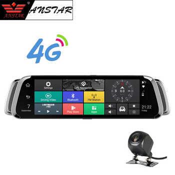 ANSTAR 4G Car Camera 10 inch Rearview Mirror Android 5.1 GPS Car DVR Video Recorder WiFi Bluetooth Dual Lens Registrar Dash Cam - DISCOUNT ITEM  26% OFF All Category