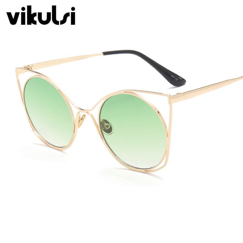 2017 Transparent Gradient Sun Glasses Women Sunglasses Elegant Optics Round lunette femme Lady Oversized Famous Brand Designer