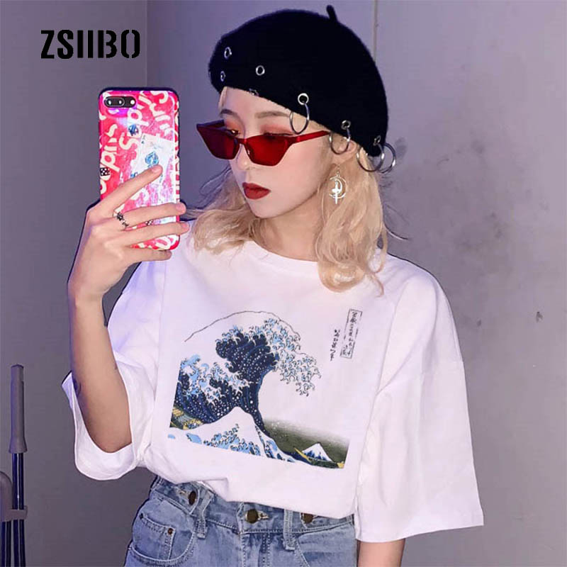 Hillbilly J-1032 Sweatshirt Surf Life Simple Style Letter Print Lady Polyester Hoodie New Womens Round Collar Cotton Shirt Women's Clothing