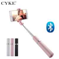 Mini Selfie Stick For iPhone Samsung Sony Huawei Xiaomi Lipstick Wired Handheld Selfie Holder Self-timer Monopod Free shipping