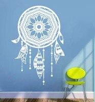 Sprzedaż Bezpośrednia Home Decor New Arrival 1 Sztuka Naklejki Ścienne Do Salonu Sypialni Dreamcatcher Tanie Naklejki Winylu Pvc