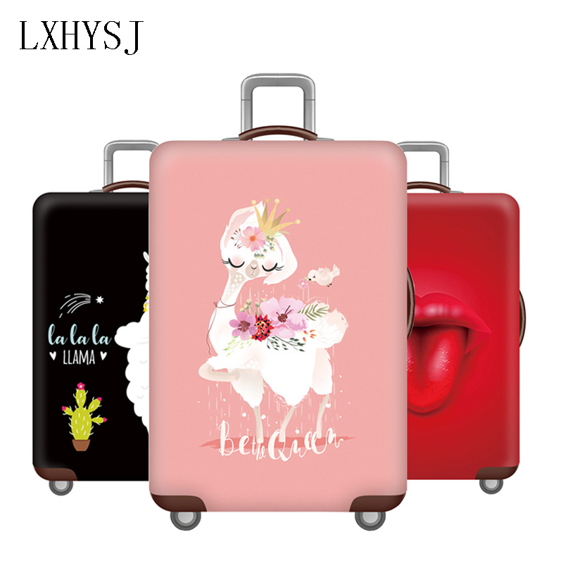The New Elasticity Luggage Cover Baggage Cover Suitable For 18-32 Inches Suitcase Case Dust Cover Travel Accessories