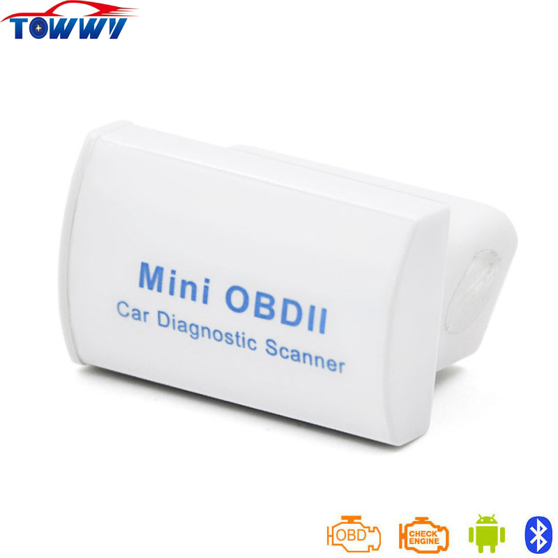 Super MINI ELM327 OBD2 Diagnostic Scanner With Bluetooth Latest V2 1 Works ON Android Torque PC