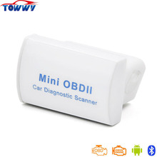 Super MINI ELM327 OBD2 Diagnostic Scanner With Bluetooth Latest V2.1 Works ON Android Torque/PC Three Colors Available