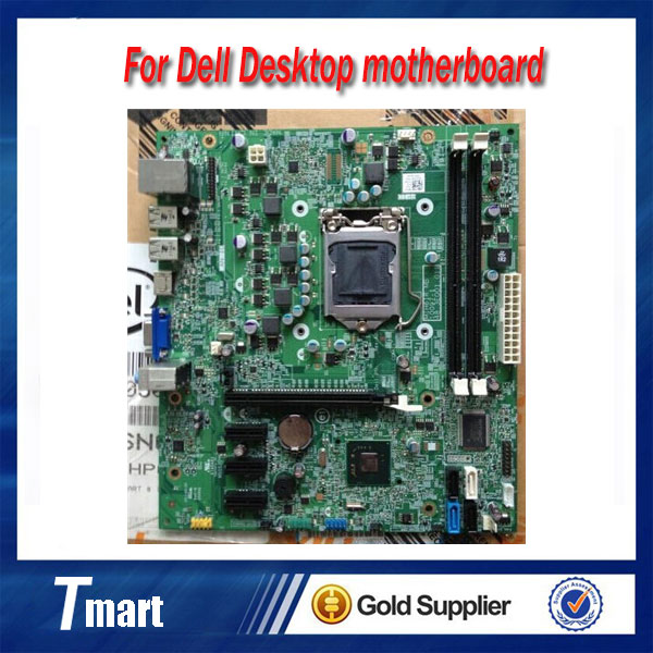 ФОТО 100% working for dell 3010 DT MT LGA1155 DDR3 H61 Desktop Motherboard 42P49 fully tested
