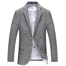 2018 moda copo de nieve gris traje hombres negocios informal Blazers  smoking boda Trajes elegancia exquisita slim fit chaqueta d. f8d2238a315d
