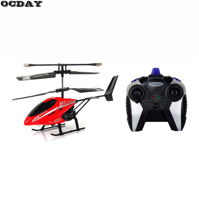Kids RC Drone 2 Channel Remote Control Helicopter Toys Solid Shatterproof Mini RC Quadcopter Red Model Plane Best Gift For Boy