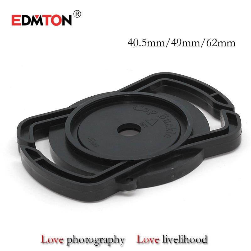 10 PCS/lot Camera Lens Cap gardien 40.5mm 49mm 62mm Universal Lens Cap Camera Lens Cap Buckle Titulaire gardien