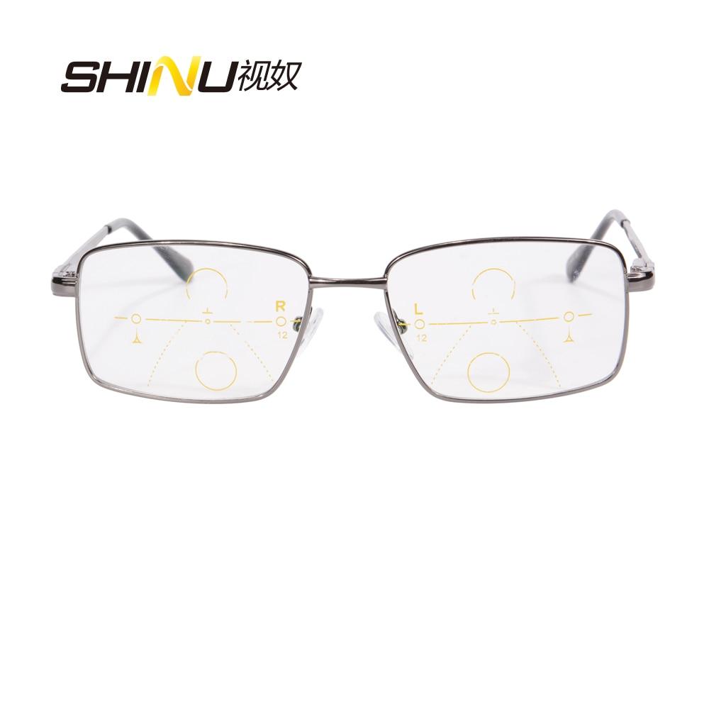 Nueva llegada Gafas de lectura multifocales progresivas SHINU Marco - Accesorios para la ropa - foto 2
