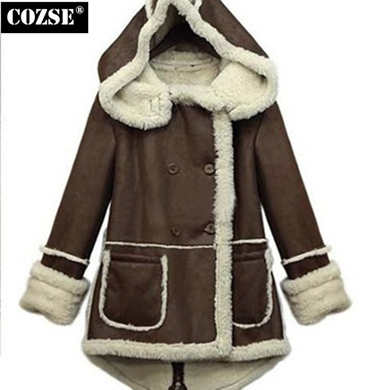ФОТО Fashion 2015 Autumn And Winter European Thick Warm Cotton-Padded Clothes Women Coat  Women Free Shipping H8843