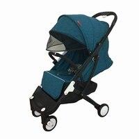 Fast ship! 12 gifts yoya plus 2019 model travel system brand newborn baby stroller super light trolley boarding directly car
