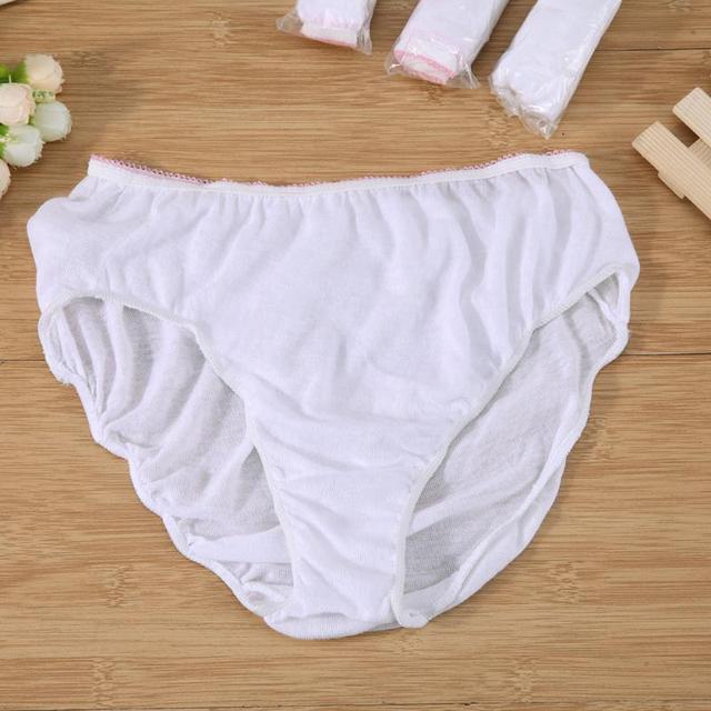 294cda0cf1f1 4PCS Cotton Pregnant Briefs Postpartum Cotton Underpants Sterilized  Disposable Underwear Travel Panties Clean Intimate Prenatal