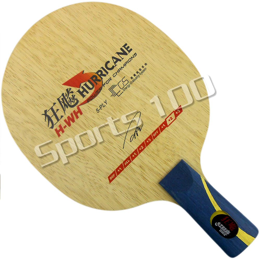 DHS Hurricane H-WH H WH Table Tennis PingPong Blade penhold short handle CS цена и фото