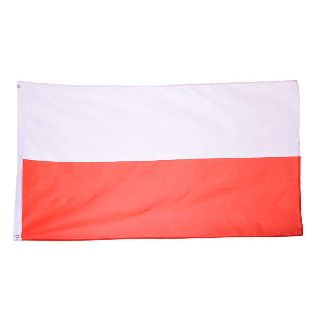 poland national flag hanging for festival home decoration office