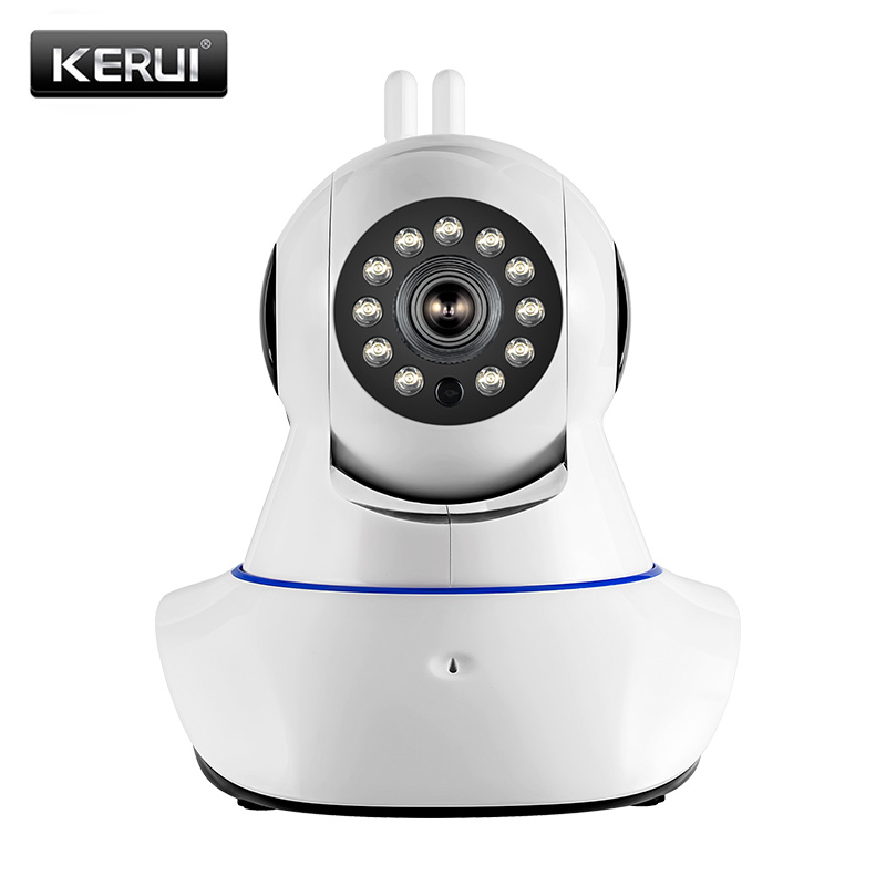 720P HD Security Wifi IP Camera Night Vision Alarm Email App Message Push Indoor PT Phone
