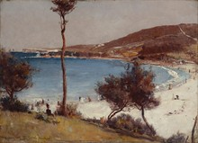 Unframed Canvas Prints - Holiday Sketch At Coogee - Tom Roberts